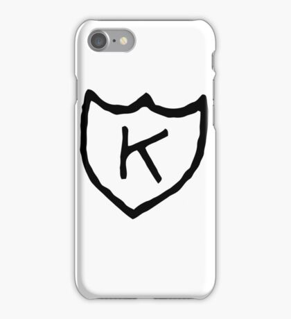K iPhone Case/Skin