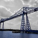 The Transporter Bridge Middlesbrough  by AdamNaisbitt