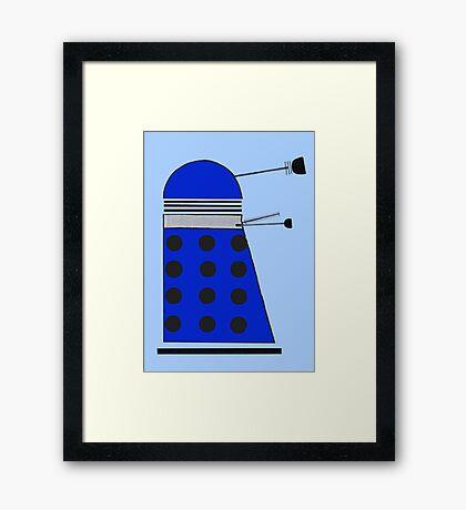 Strategist Dalek Framed Print