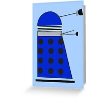 Strategist Dalek Greeting Card