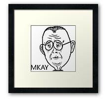 Sad Mr.Mackey Framed Print