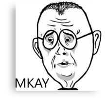 Sad Mr.Mackey Canvas Print