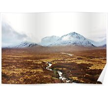 Mountain Meander Poster