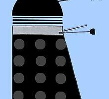 Dalek (Black) by thedaintydalek