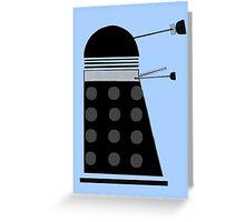 Dalek (Black) Greeting Card