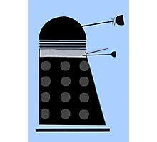 Dalek (Black) Photographic Print