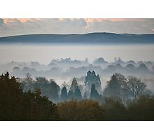 A Misty Winter's Morning - Cuckfield (8) Photographic Print