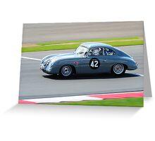 Porsche 356 pre A Greeting Card