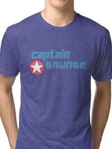 Captain Grunge MUSIC Tri-blend T-Shirt