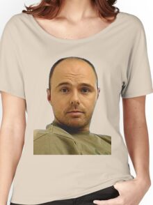 Local Boy Karl Pilkington Women's Relaxed Fit T-Shirt