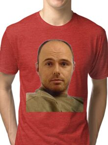 Local Boy Karl Pilkington Tri-blend T-Shirt