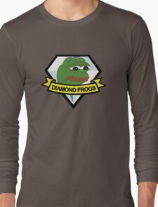 diamond frogs - our new home Long Sleeve T-Shirt