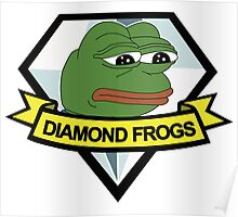 diamond frogs - our new home Poster