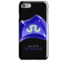 Soul of the Scholar -black iPhone Case/Skin