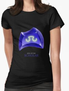 Soul of the Scholar -black Womens Fitted T-Shirt