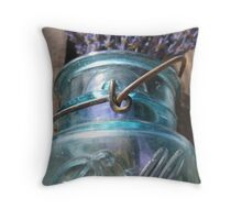 Blue Mason Throw Pillow