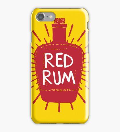 Redrum Bottle iPhone Case/Skin