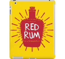 Redrum Bottle iPad Case/Skin