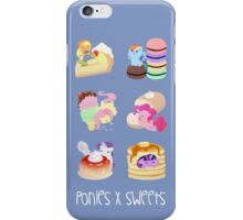 Ponies x Sweets iPhone Case/Skin