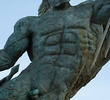 statue I - estatua by Bernhard Matejka