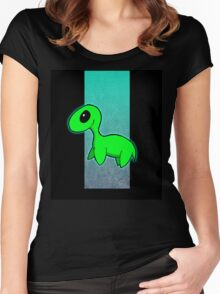 Loch Ness Monster Women's Fitted Scoop T-Shirt