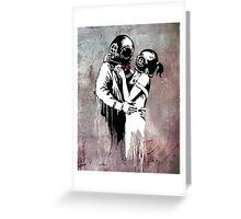Diver - Banksy Greeting Card