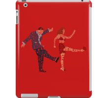 I'll never tell typography iPad Case/Skin