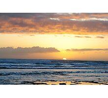 Hawaiin Sunset Photographic Print
