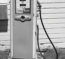 Gas Pump by Frank Romeo