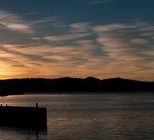Hobart Sunrise panorama by Odille Esmonde-Morgan
