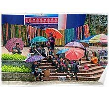 Umbrellas. Poster