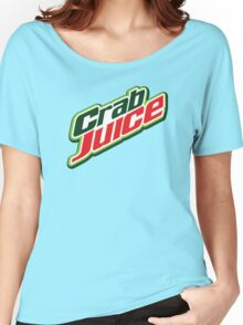 Crab Juice Women's Relaxed Fit T-Shirt