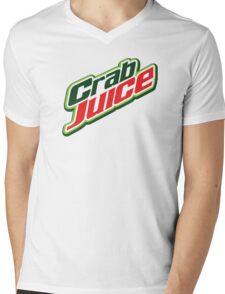 Crab Juice Mens V-Neck T-Shirt