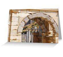 Ephesus  Greeting Card