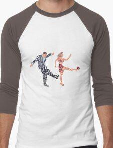 I'll never tell typography Men's Baseball ¾ T-Shirt