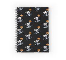 Skeleton Kid Spiral Notebook