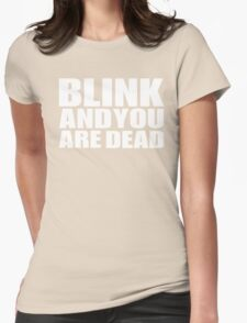 Blink Womens Fitted T-Shirt