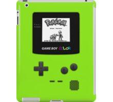 Gameboy Pokemon Green iPad Case/Skin