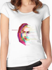 rahma Women's Fitted Scoop T-Shirt