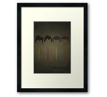 Reservoir Dogs Framed Print
