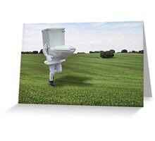 Toilet of La Mancha Greeting Card