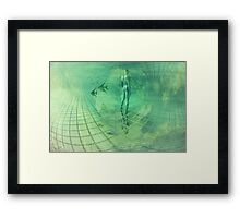 Underwater World Framed Print