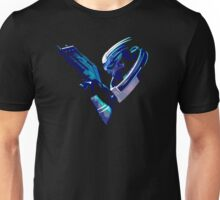 V is for Vakarian Unisex T-Shirt