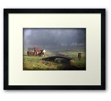 ~ In the Country ~ Framed Print