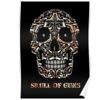 Skull Of Guns Poster