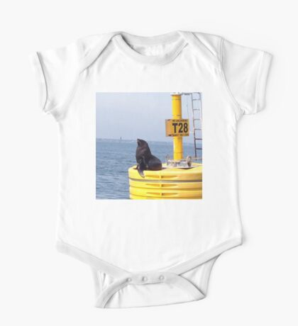 Seal on Melbourne Marker One Piece - Short Sleeve