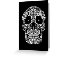 Skull Of Guns (B&W) Greeting Card