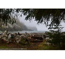 Waikiki Beach, Cape Disappointment State Park, Washington Photographic Print