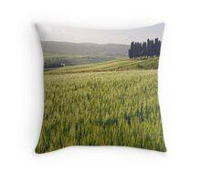 Tuscan Wheat Throw Pillow