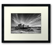 High and Dry BW Framed Print